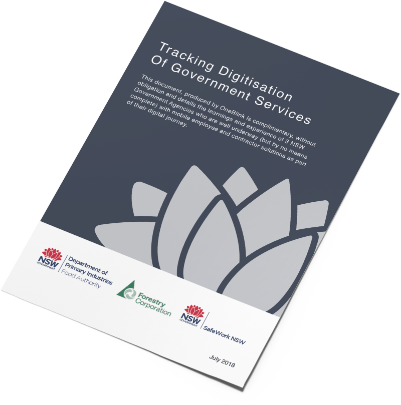Digitisation of NSW Government Agencies